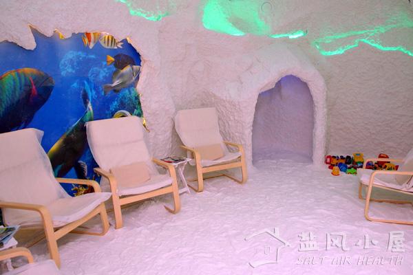 盐风小屋的盐氧空间有助于睡眠质量